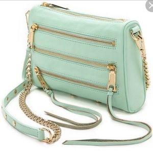Rebecca Minkoff 5 zip mini crossbody bag